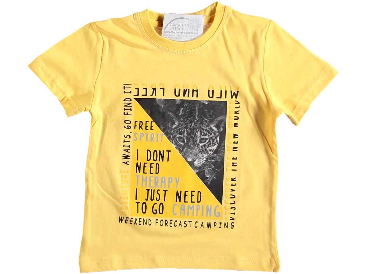 Футболка желтая 3/7 лет 320010